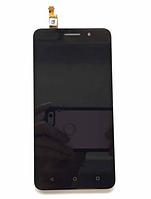 Оригинальный дисплей (модуль) + тачскрин (сенсор) для Huawei Honor 4X | Glory Play 4X (черный цвет)