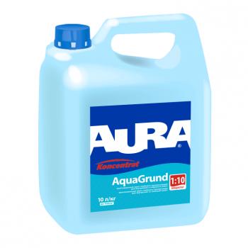 Aura AquaGrund 0,5л - Влагозащитная грунтовка глубокого проникновения