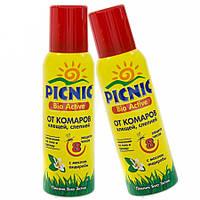 """""""Picnic Bio Active"""" аэрозоль от клещей и комаров 125 мл"""