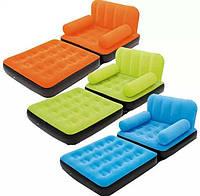 Надувное кресло трансформер Bestway 67277 2в1