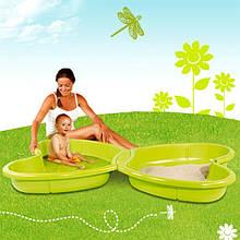 Детская песочница Smoby  бассейн Бабочка 310143