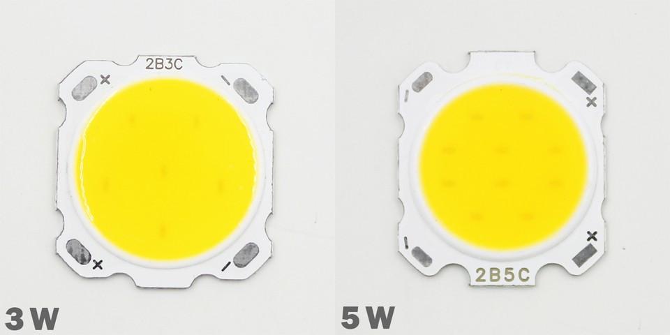 LED 3w COB світлодіод білий 6000К 300LM 300мА/9-12В