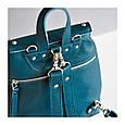 Рюкзак кожаный женский ETHNIC с бахромой, фото 4