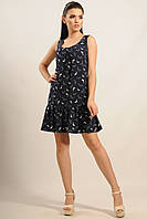 Платье Джесс Ri Mari темно-синий