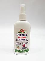 Спрей от комаров, мокрецов, москитов PICNIC Baby для детей с запахом ромашки