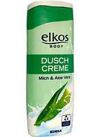 Крем-гель для душа Elkos c экстрактом алоэ-вера 300 мл. Германия