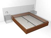 Металлический каркас к кровати 1800х2000 с ногами
