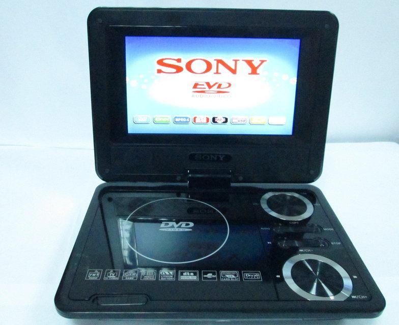 "7,6"" Портативный DVD плеер Sony SX737 TV+USB+SD"