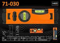 Уровень алюминиевый 2 глазка - 200мм., NEO 71-030