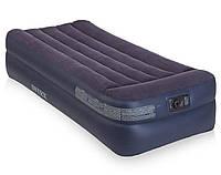 Надувная кровать со встроенным электронасосом Intex 64122