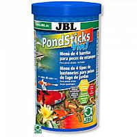 JBL (ДжБЛ) POND Sticks 4 in 1 корм для прудовых рыб, 1 л.