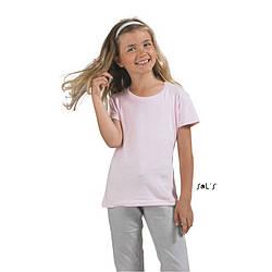 Детская футболка SOL'S CHERRY, 7 цветов, с возможностью нанесения логотипа, 11970
