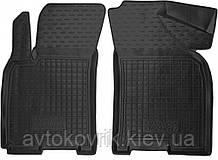 Полиуретановые передние коврики в салон Daewoo Gentra 2013- (AVTO-GUMM)