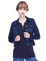 Куртка синяя 38,42 рзм.