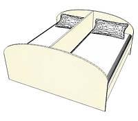 Кровать двойная (Ренессанс)