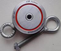 Поисковый магнит РЕДМАГ F200*2 двухсторонний