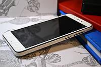 """Виниловая наклейка """"Белый карбон"""" Xiaomi Redmi 4Х (передняя часть) 0,12 mm"""