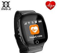 Умные часы gps для детей, подростков и пожилых людей сенсорные D100 EW100s 1.54″ Wifi Back