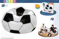 """Надувное кресло """"Футбольный мяч"""" Intex 68557"""
