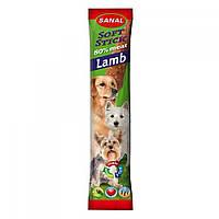 SANAL (Санал) Lamb Stick мягкие стиксы-палочки для собак, ягнятина, 12 г.