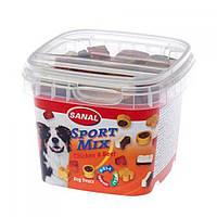 SANAL (Санал) Sport Mix косточки лакомство для активных собак, 100 г.