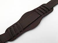 Ремешок кожаный - Командирский (Украина) коричневый