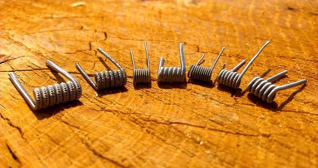 Clapton coil