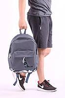 Рюкзак городской мужской, женский, сумка, портфель, серый