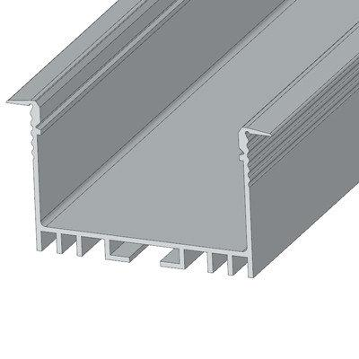 Профиль алюм. для LED ленты врезной ЛСВ-40