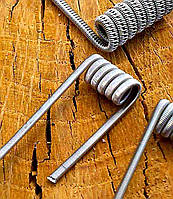 Спираль Staggered Fused Clapton coil