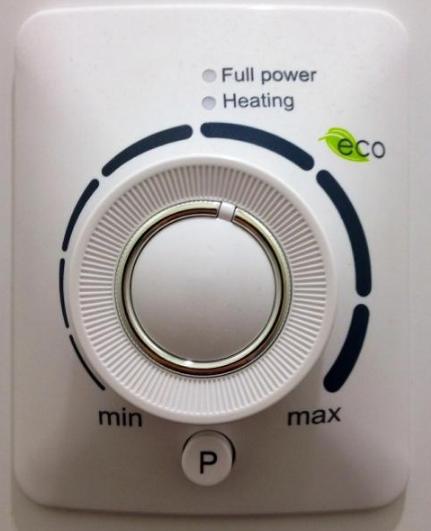 панель управления водонагревателя Electrolux EWH 50 AXIOmatic Slim