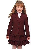 Пиджак школьный для девочки м-515  рост 116-170, фото 1