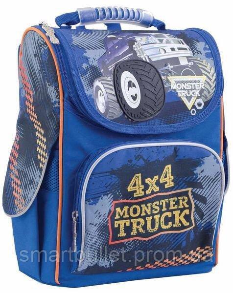 Ранец школьный ортопедический 1 Вересня Monster Truck 553296