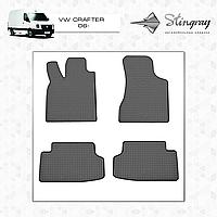 Автомобильные коврики Stingray Volkswagen Crafter 2006-