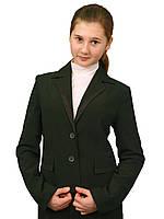 Пиджак школьный для девочки м-659  рост 128