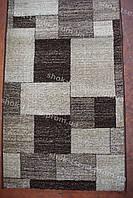Дорожка ковровая прямоугольник коричневая