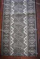 Дорожка ковровая ромб серый