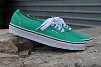 Кеди Vans - Authentic Deep Green/White/Forest (оригінал), фото 1