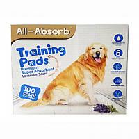 Пеленки для собак All-Absorb (Олл-Абсорб) Premium 56х58см, 100шт.