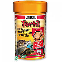 JBL (ДжБЛ) Tortil корм для водяных черепах, 250 мл.