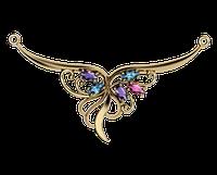 Золотое колье Виктория