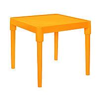 Детский пластиковый столик (оранжевый) арт. 100025