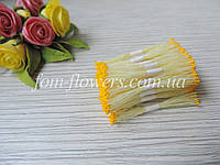 Тайские тычинки желтые супер мелкие на лимонной нитке
