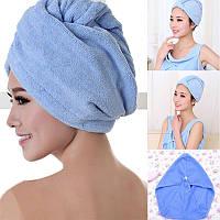 Полотенце для сушки волос из микрофибры Hair Wrap