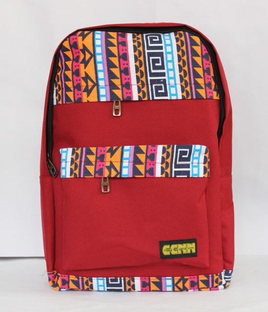 Молодіжний рюкзак з оригінальним принтом