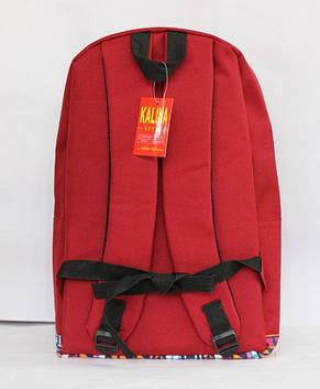 Молодіжний рюкзак з оригінальним принтом, фото 2