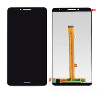 Оригинальный дисплей (модуль) + тачскрин (сенсор) для Huawei Ascend Mate 7 (черный цвет)
