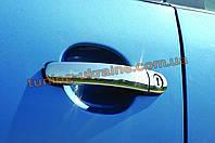Накладки ручки из АБС пластика Libao на Volkswagen Tiguan 2008-2011