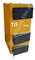 Твердотопливный котел ХОЛМОВА 10 КВТ с фронтальной загрузкой