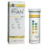 Тест-полоски Альбуфан (определение белка в моче)